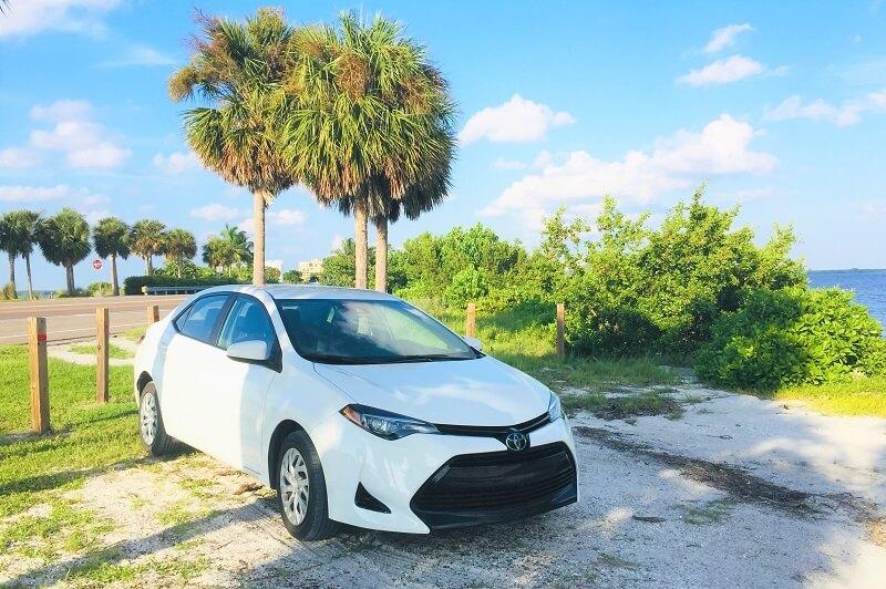 coche alquiler Florida