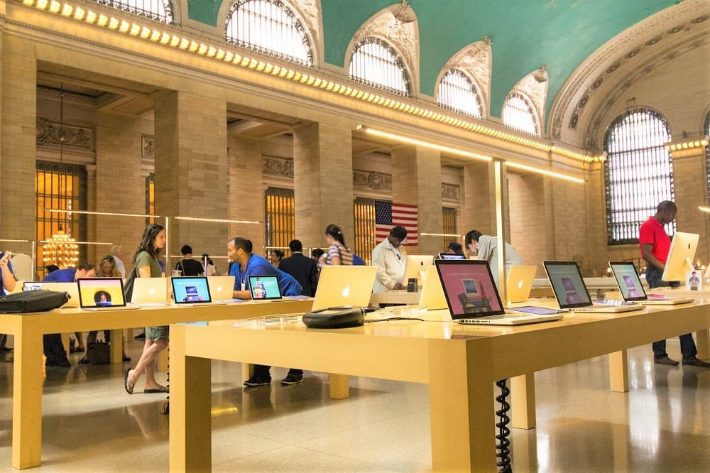 Comprar Apple en New York
