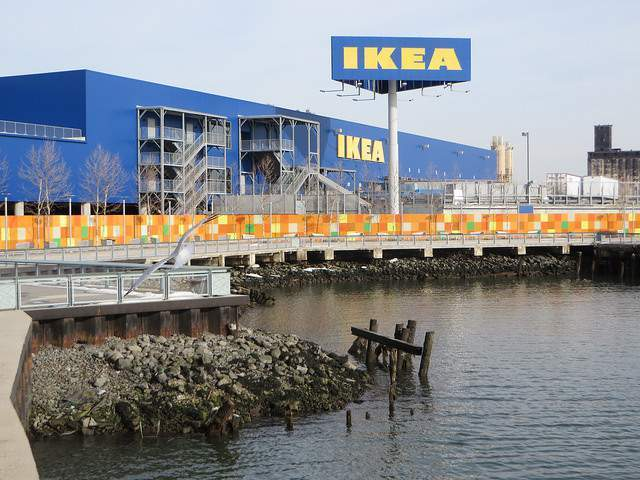 Ferry Ikea de Brooklyn
