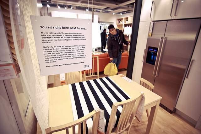 shopping en Ikea NY