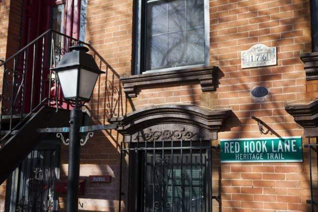 El Barrio de Reed Hook de New York