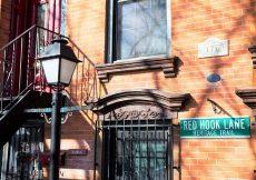 Barrio de Red Hook en New York