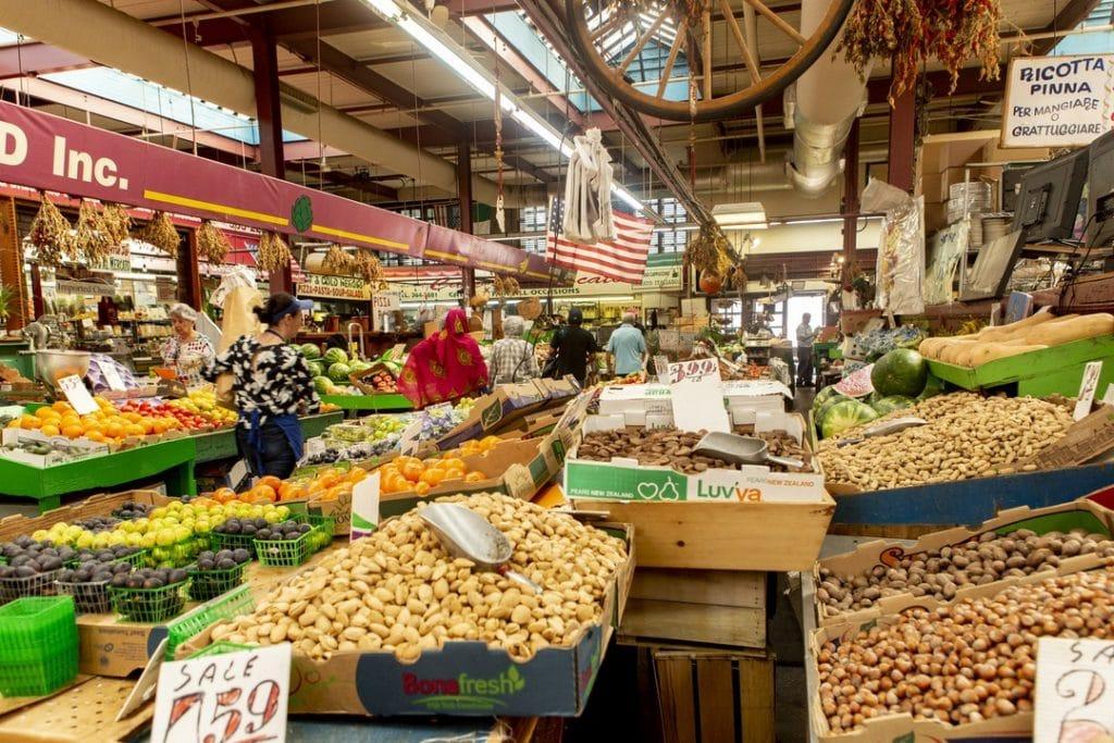 Mercado en Little Italy