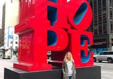 Escultura Hope en New York
