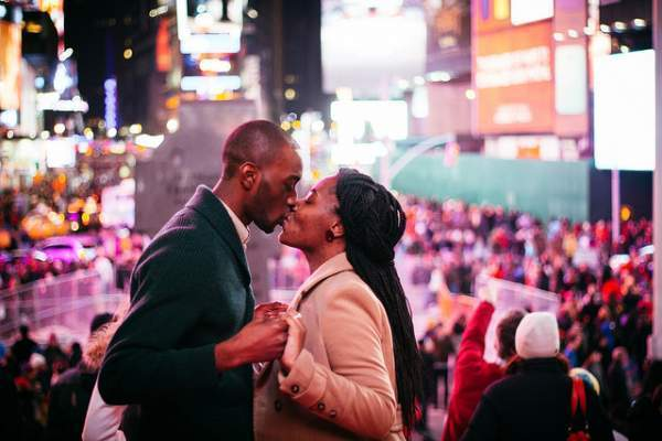 Kiss Times Square - Kyle Willis
