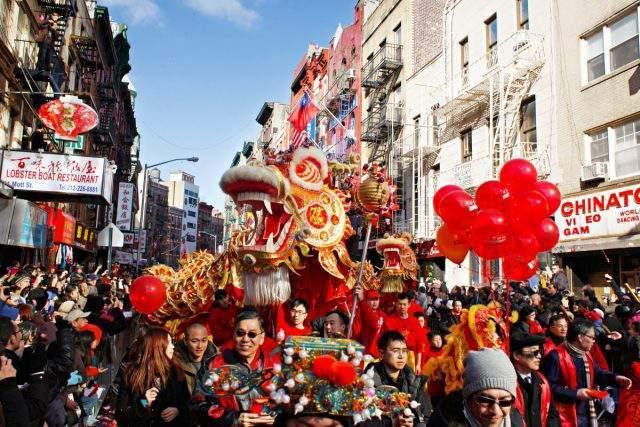 Año Nuevo Chino en New York