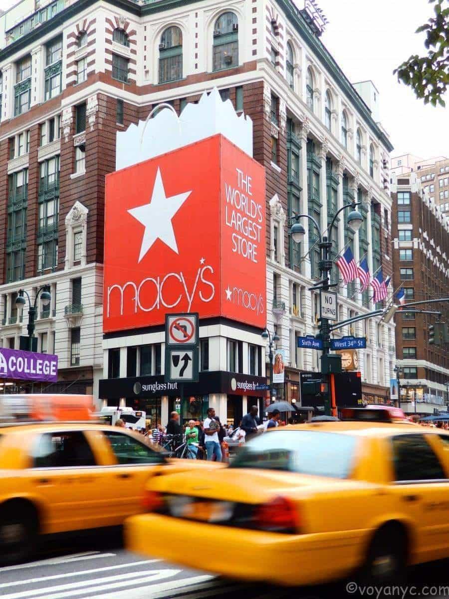 Macy's - ©VoyaNYC \ Comprar en Macy's New York