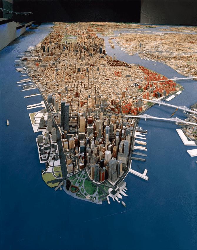 maqueta más grande de new york