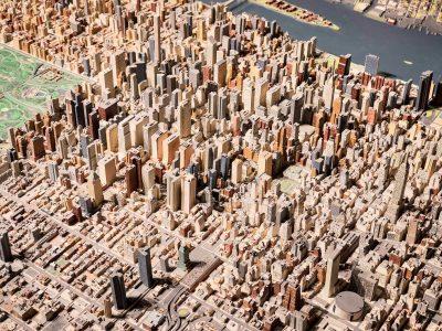 La maqueta de New York de Pretend it's a City