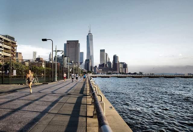 Hudson River Park - Mejores parques en New York