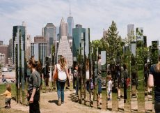 Brooklyn Bridge Park - Mirror Labyrinth - Shawn Hoke