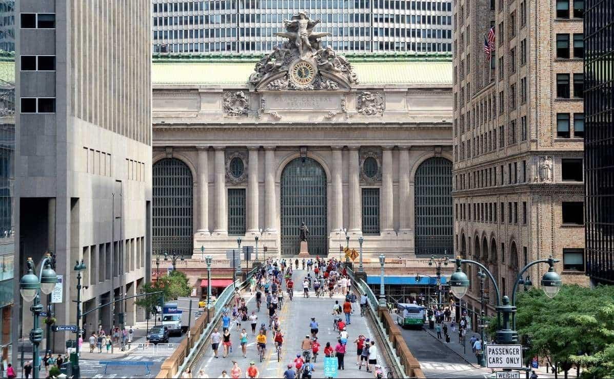 Summer Streets - Agosto en Nueva York