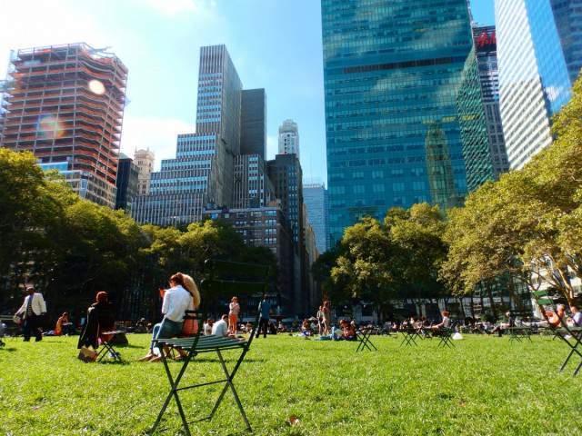 Parques de New York - Bryant Park @ Voy a NYC