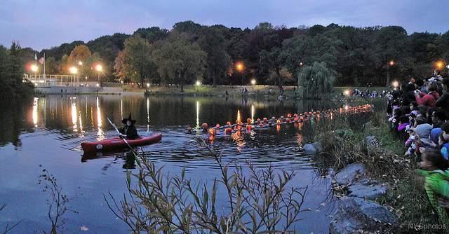 Pumpkin Sail Central Park - Katie Killary