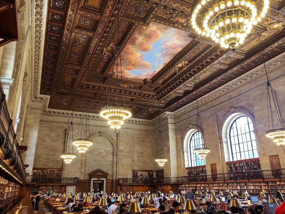 The Rose Main Reading Room - Biblioteca Pública Nueva York