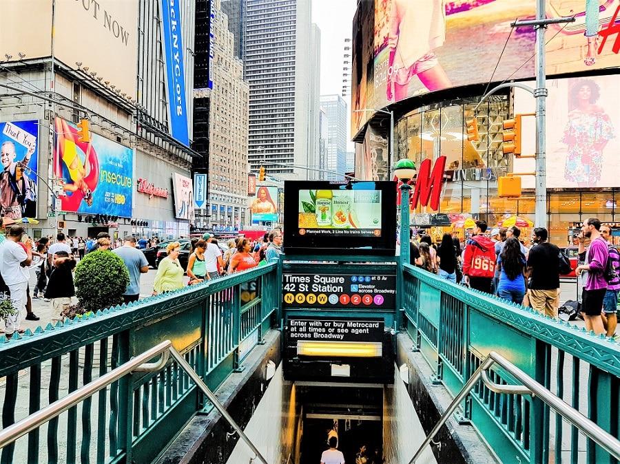 Curiosidades Times Square