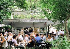 Comer Hamburguesas en Shake Shack