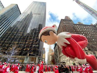 Celebrar Acción de Gracias en Nueva York