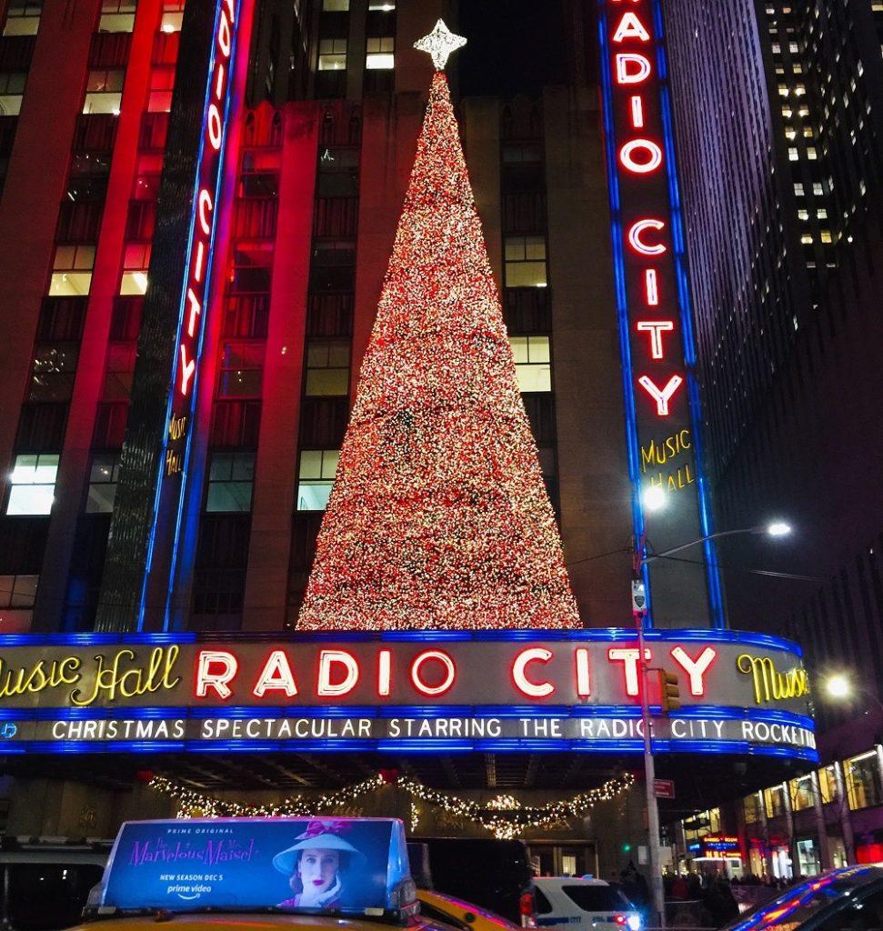 Arbol de Navidad Radio City Music Hall
