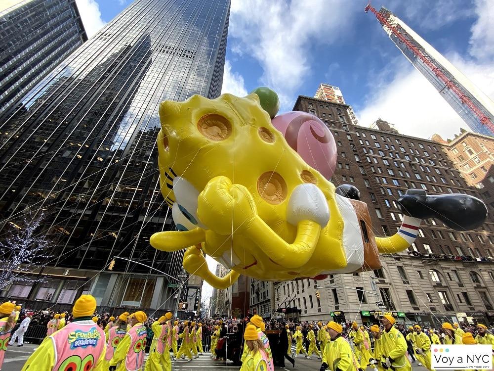 Bob Esponja - Acción de Gracias en Nueva York