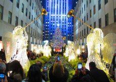 Ceremonia de encendido de luces Rockefeller Center