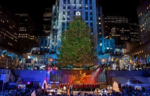 Encendido del Árbol de Navidad del Rockefeller Center