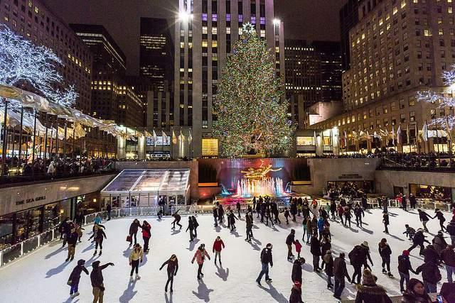 Encendido del Árbol del Rockefeller Center