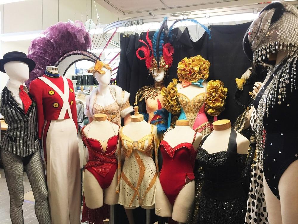 Vestuario de las Rockettes
