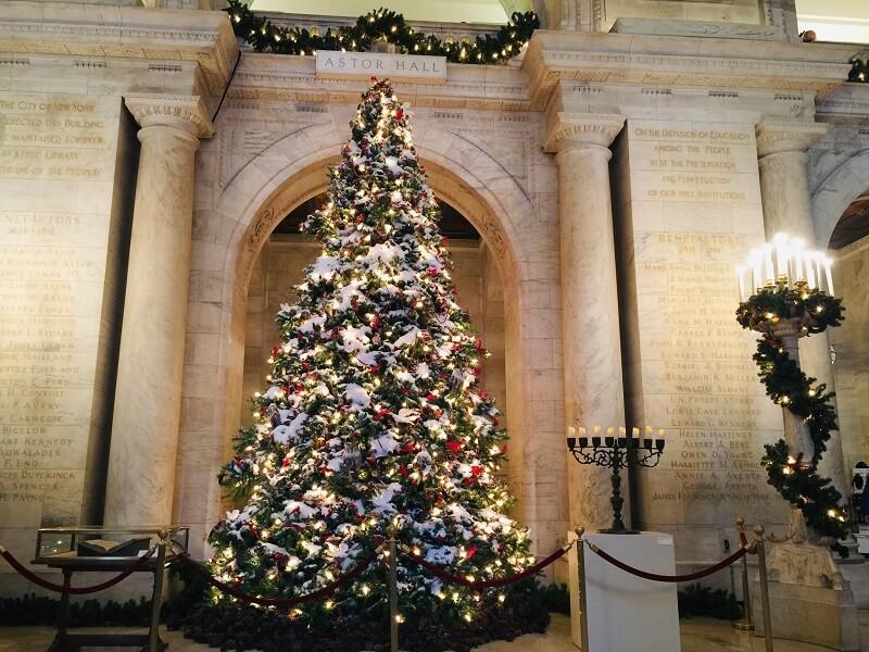 Arbol Navidad NY