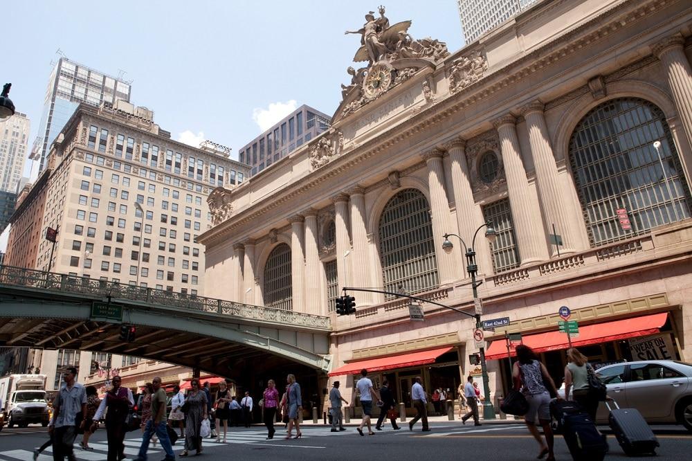 Fachada Estación Central de Nueva York