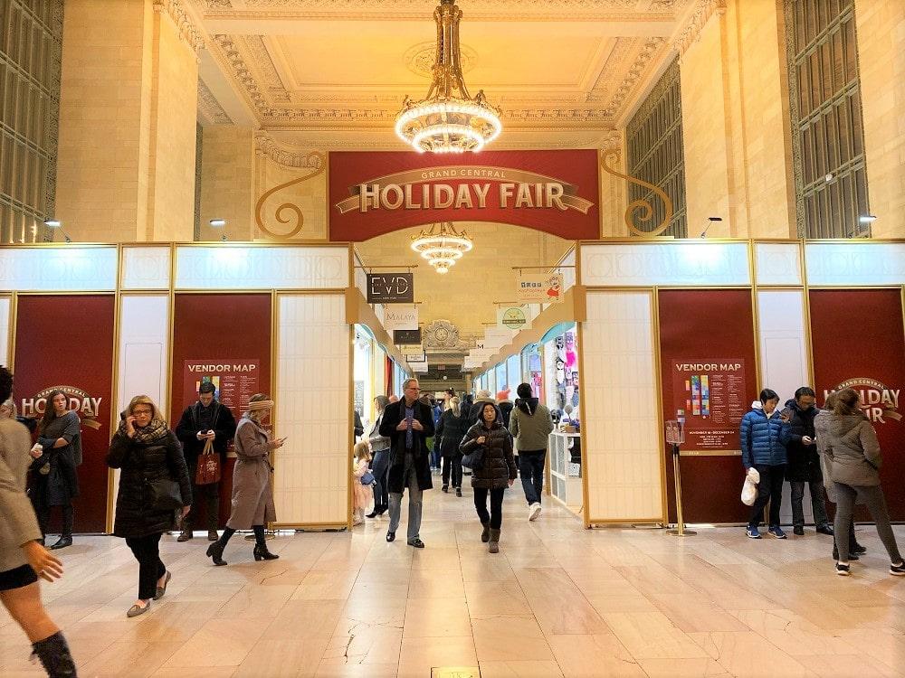 Mercado Navidad Estación Central NY