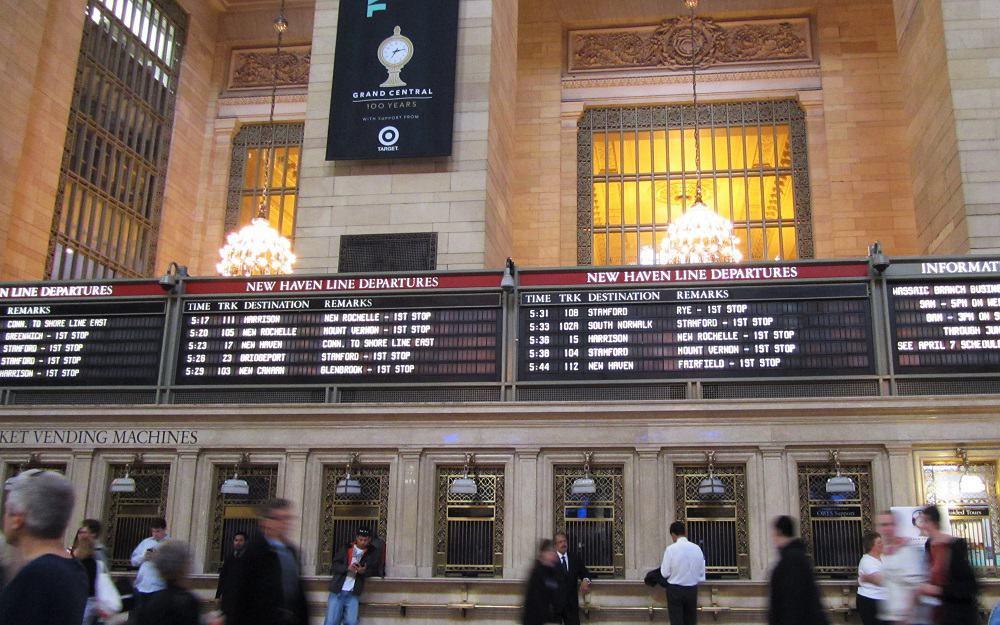 Grand Central en Nueva York