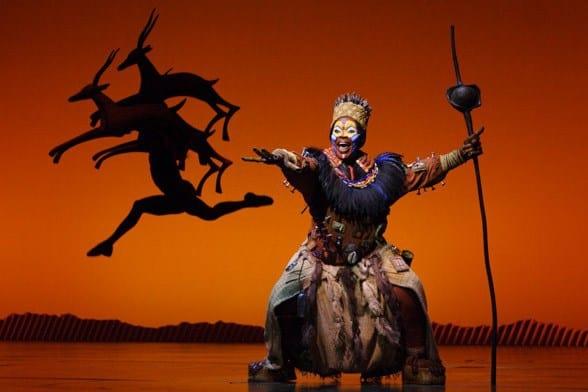 Musical el Rey Leon en Broadway
