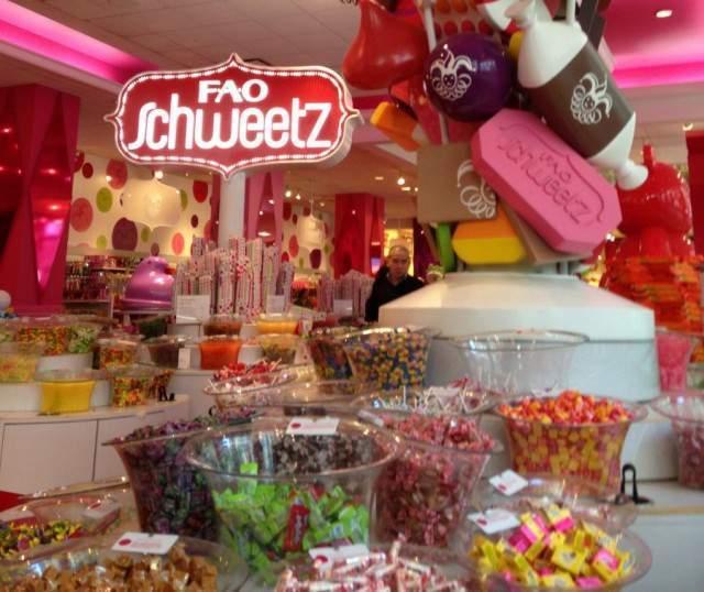 Tiendas de cupcakes y caramelos en New York