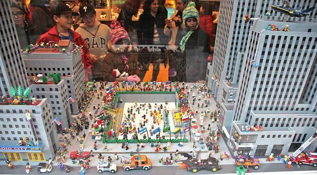 Nueva York con niños en las jugueterías