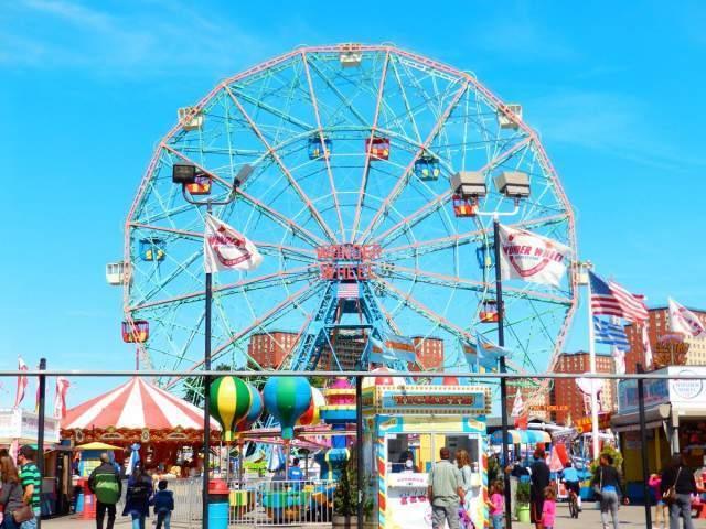 Nueva York con niños en Coney Island
