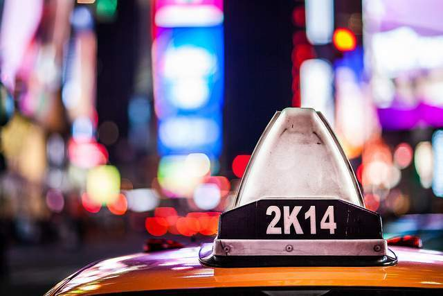 ¿ Por qué son amarillos los taxis de NY?