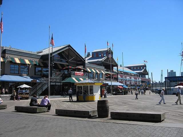 El barrio de South Street Seaport en Nueva York