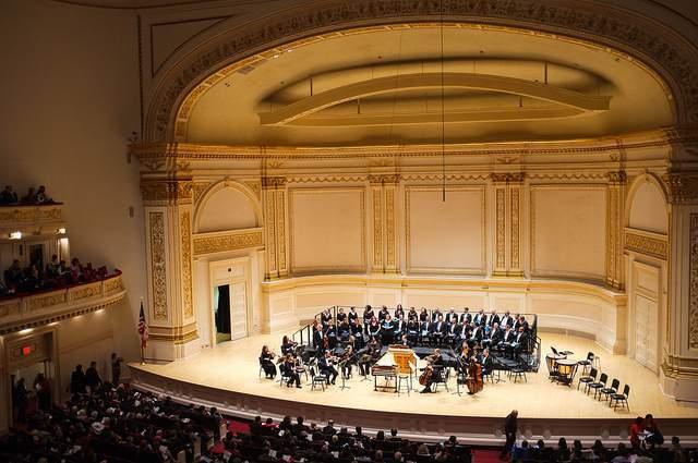 Sala de conciertos Carnegie Hall