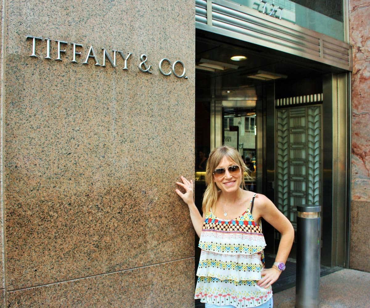 Tiffany's en Nueva York