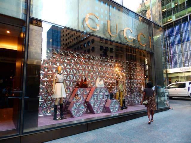 De compras por Nueva York