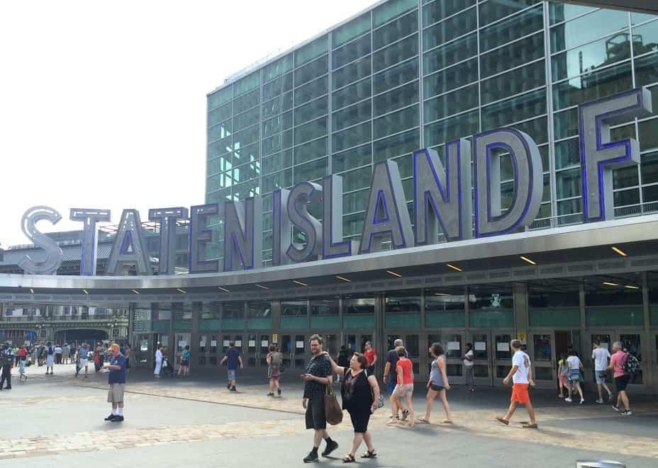 Staten Island Ferry Terminal en Manhattan