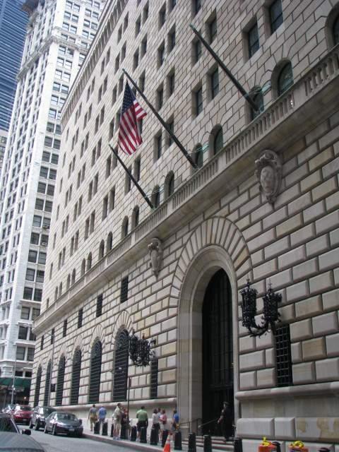 Visitar la Reserva Federal de Nueva York