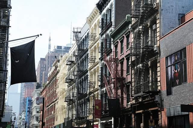 Barrio del Soho Manhattan