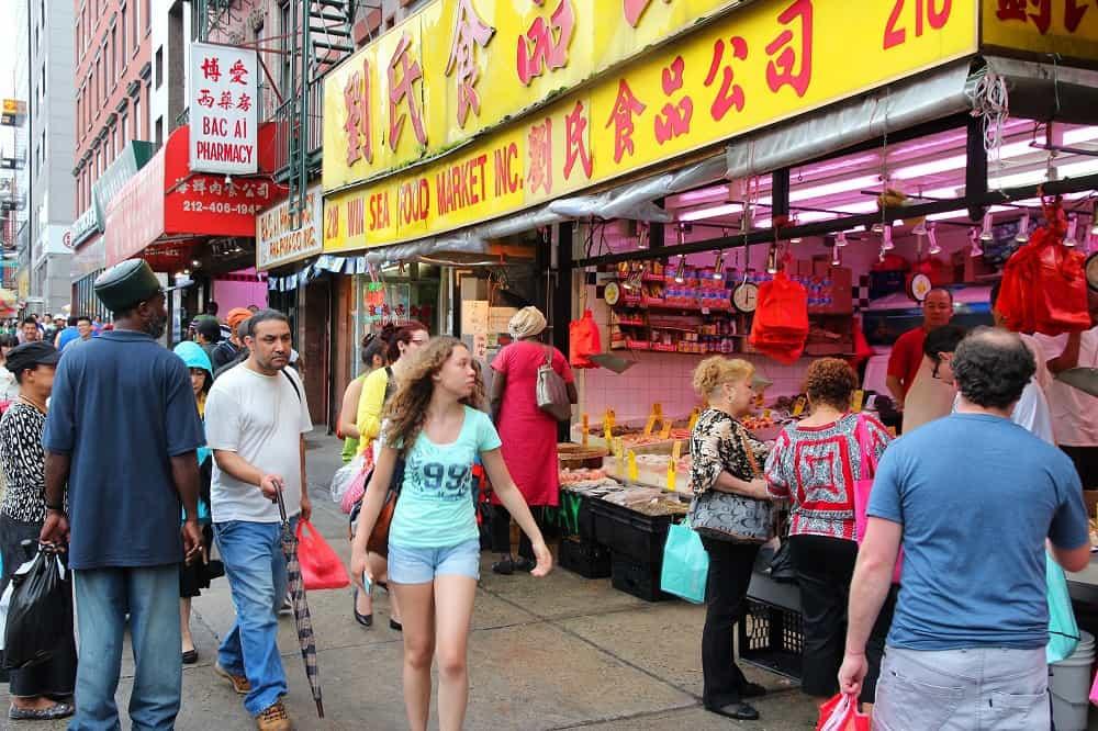 Escenarios de Spiderman en New York - Chinatown Manhatta
