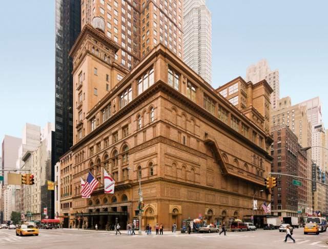 Visitar el Carnegie Hall