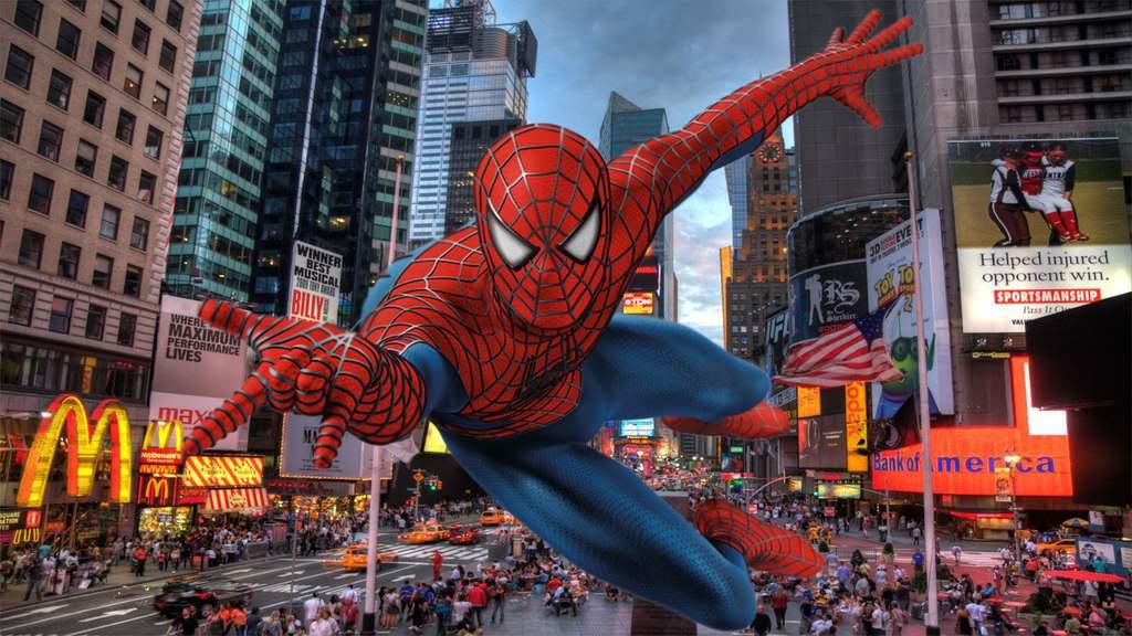 Spiderman en New York