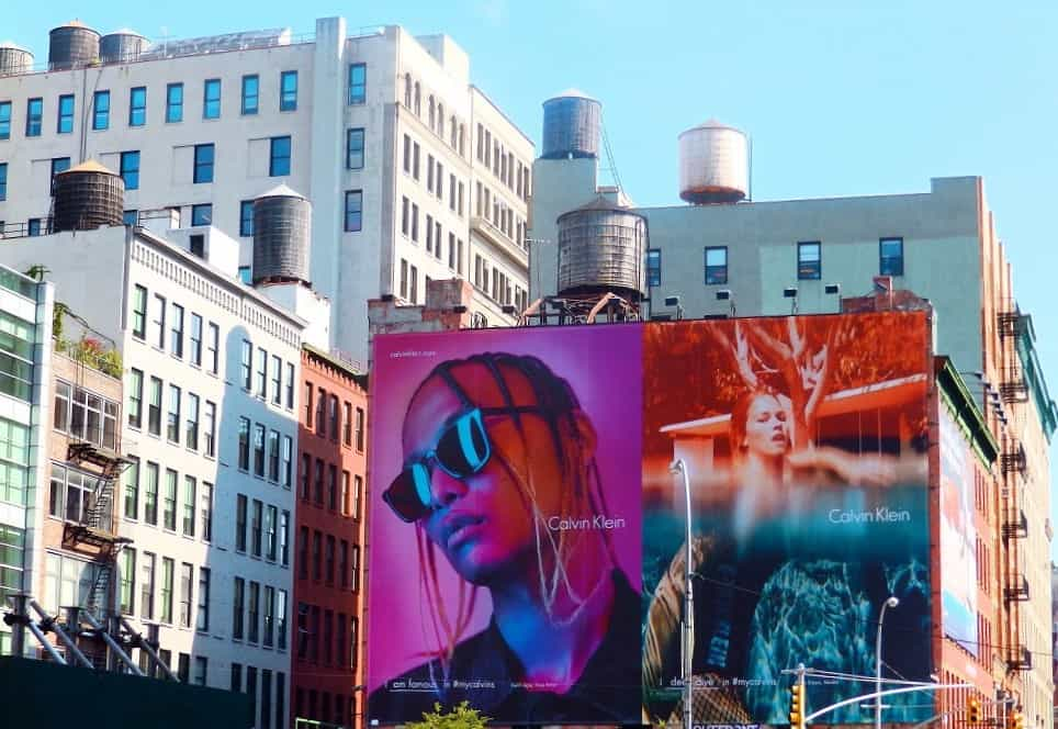 Depósitos de agua en Nueva York
