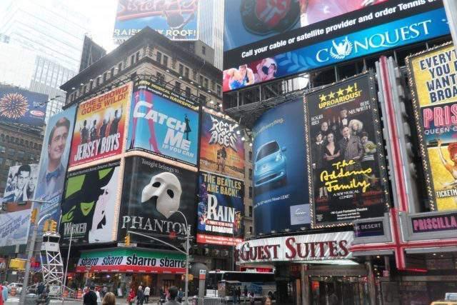 Que ver en Times Square NY