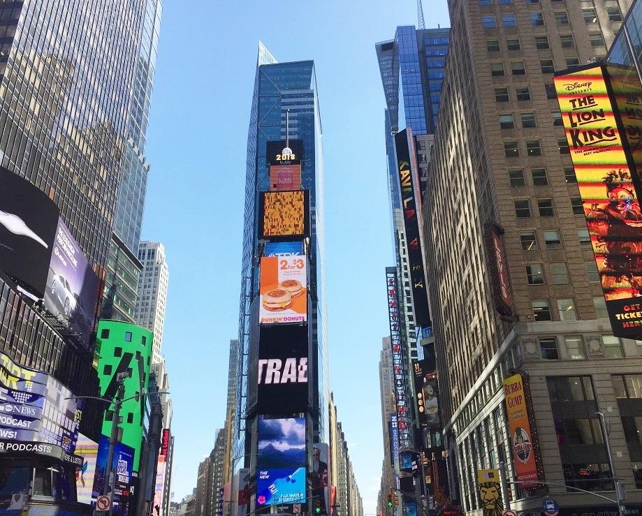 Edificio Fin de Año en Nueva York
